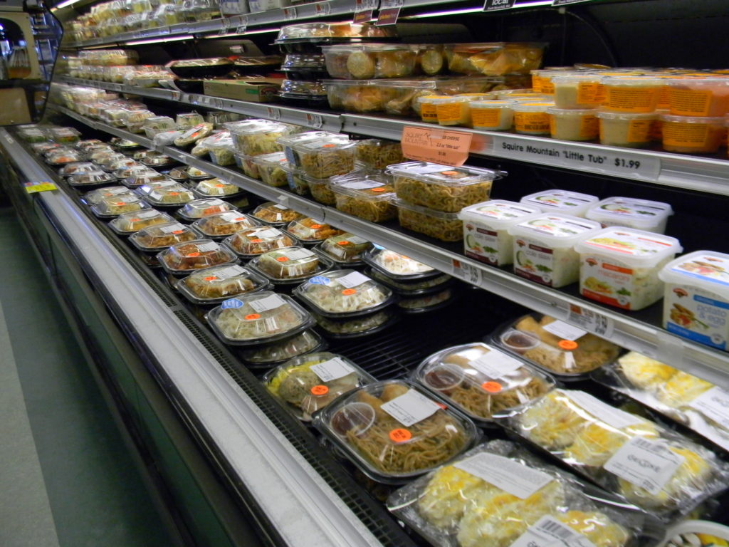 The Umbrella Factory offers ready-made meals for those on the go!